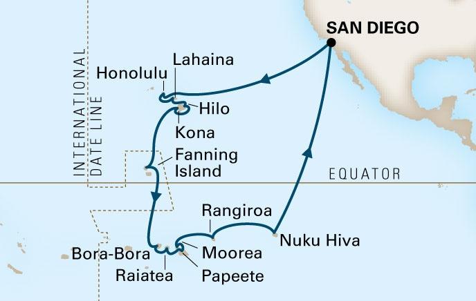 2014 Hawai I Polynesia Cruise Joetourist
