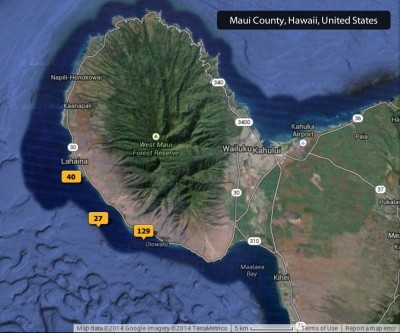 2014 Maui Photos Map