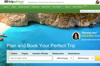 TripAdvisor Screen Shot