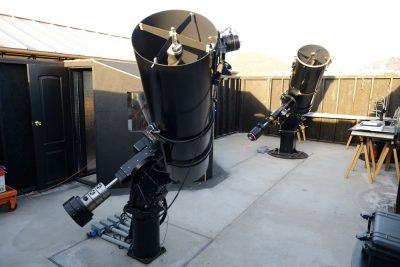 "Garry's observatory with 20"" and 25"" telescopes"