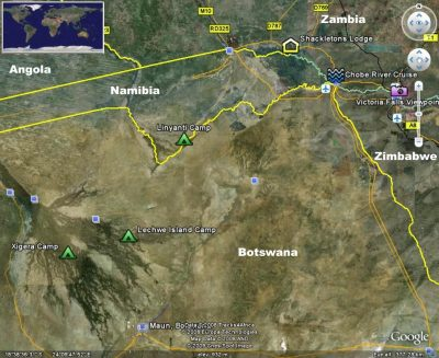Zambia & Botswana safari camps