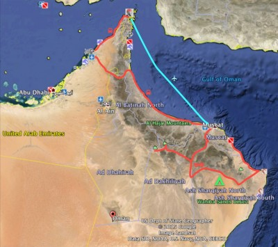 Our travels in Oman