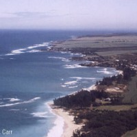 Surf and beaches along the north coast of Maui