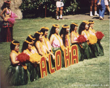 Kodak Hula Show in Kapiolani Park