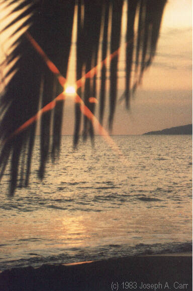 Maalaea Bay sunset