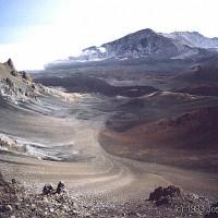 Haleakela caldera in 1983