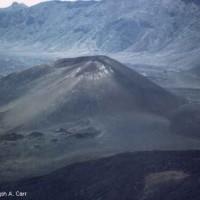 Haleakela cinder cone - 1983