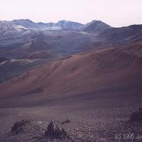 Haleakela caldera in 1995