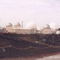 Observatories on top of Haleakela - 1995