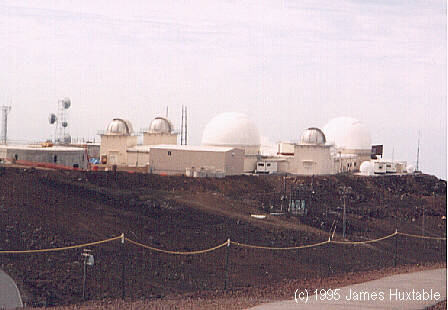 Observatories on top of Haleakela - 1995