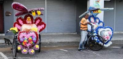 Two trishaws, Malacca, Malaysia