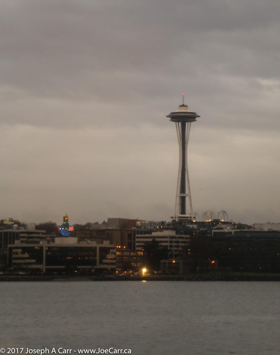Approaching Seattle in Elliott Bay