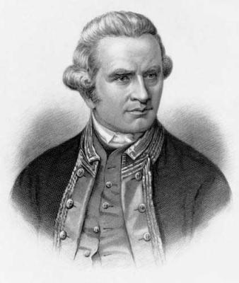 Captain Cook, 1770